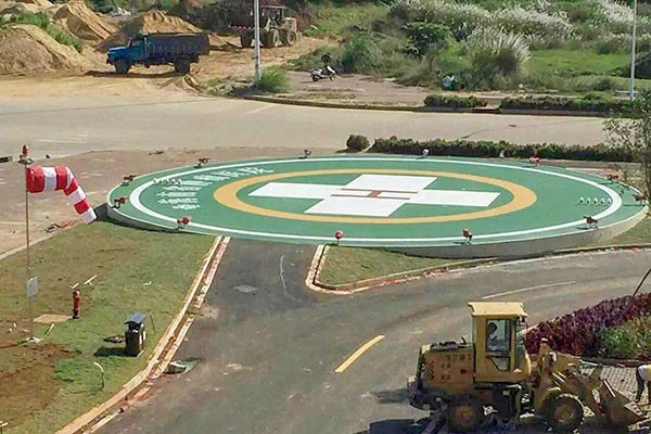 在景区建造直升机停机坪需要什么部门审批