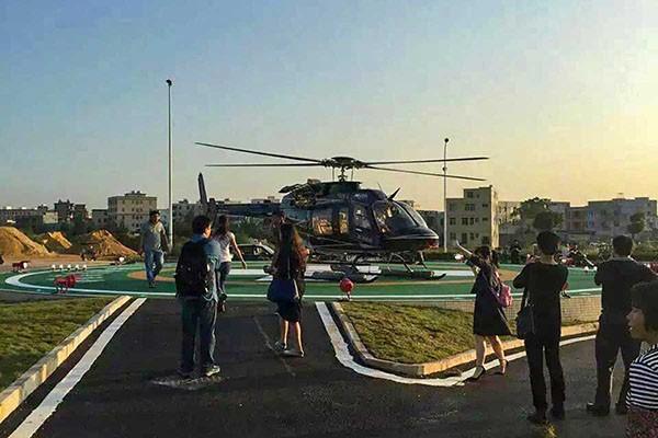最近为什么直升机停机坪这么受人关注